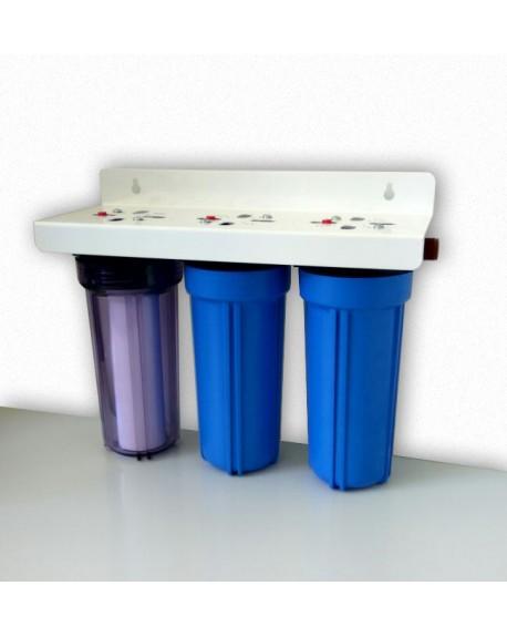 Ablandador y purificador de agua